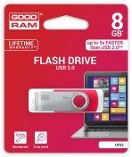 Флешка USB GoodRam Twister 8 ГБ (UTS3-0080R0R11) червона