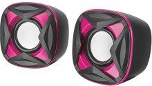 Колонки Trust Xilo Compact чорні/рожеві