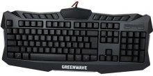 Клавіатура GREENWAVE KB-GM-114L Black (R0014217)