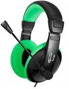 Гарнітура Gemix W-300 Black/Green