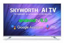 Телевізор LED Skyworth 43E6 (Android TV, Wi-Fi, 1920x1080)