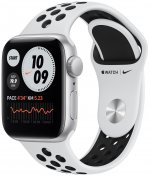 Смарт годинник Apple Watch Nike Series SE GPS 40mm Silver Aluminium Case with Pure Platinum/Black N (MYYD2)