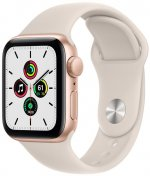 Смарт годинник Apple Watch Series SE GPS 40mm Gold Aluminium Case with Starlight Sport Band (MKQ03)