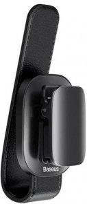 Baseus Platinum Vehicle eyewear clip clamping type Black