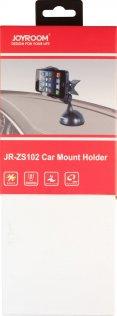 Кріплення для мобільного телефону JoyRoom JR-ZS102 присоска чорне