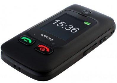 Мобільний телефон Sigma Comfort 50 Shell чорний