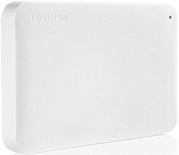 Зовнішній жорсткий диск Toshiba Canvio Ready 500 ГБ білий