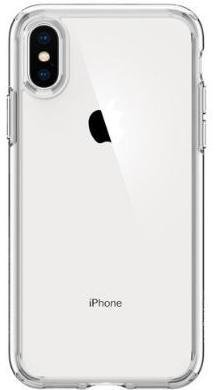 Чохол Spigen for iPhone XS - Ultra Hybrid Crystal Clear (063CS25115)