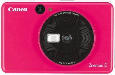 Портативна камера-принтер Canon ZOEMINI C CV123 Bubble Gum Pink (3884C005)