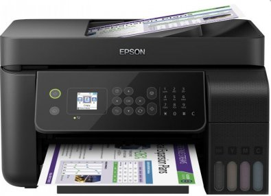Багатофункціональний пристрій Epson L5190 with Wi-Fi (C11CG85405)