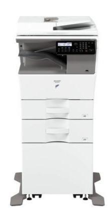 Лазерний чорно-білий БФП Sharp MXB350W А4, з Wi-Fi