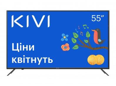Телевізор LED Kivi 55U600KD (Smart TV, Wi-Fi, 3840x2160)