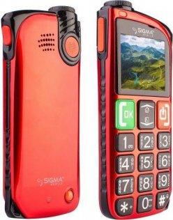Мобільний телефон Sigma Comfort 50 Light червоний