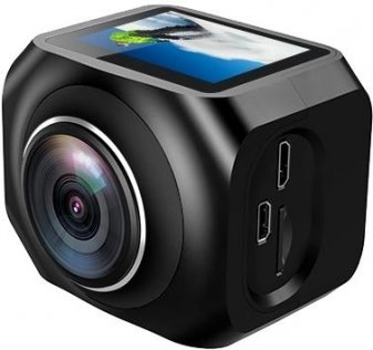 Екшн камера Eken R360 панорамна чорна