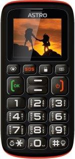 Мобільний телефон Astro B181 чорний/оранжевий