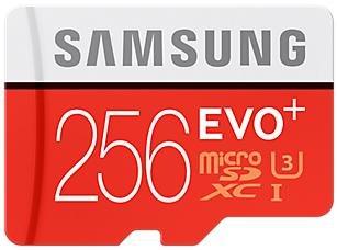 Карта пам'яті Samsung Evo Plus Micro SDXC 256 ГБ (MB-MC256DA/RU)