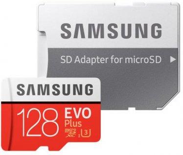 Карта пам'яті Samsung Micro SDXC Samsung Evo Plus 128GB (MB-MC128GA/RU)