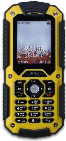 Мобільний телефон SIGMA X-treme PQ67 3G Yellow-Black