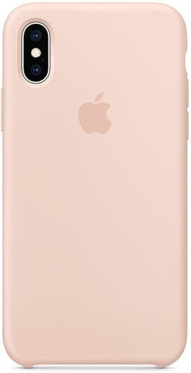 Чохол-накладка Apple для iPhone XS - Silicone Case Pink Sand