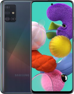 Смартфон Samsung Galaxy A51 A515 4/64GB SM-A515FZKUSEK Crush Black