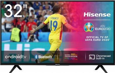 Телевізор LED Hisense 32B6700HA (Android TV, Wi-Fi, 1366x768)