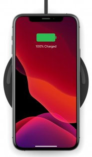 Зарядний пристрій Belkin Pad Wireless Charging Qi 10W Black /AC Adapter Not Included/ (WIA001BTBK)