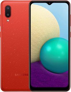 Смартфон Samsung A02 A022 2/32GB SM-A022GZRBSEK Red