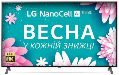 Телевізор LED LG 65NANO996NA (Smart TV, Wi-Fi, 7680x4320)