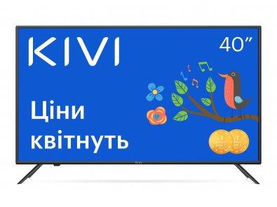 Телевізор LED Kivi 40F710KB (Smart TV, Wi-Fi, 1920x1080)