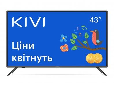 Телевізор LED Kivi 43U710KB (Smart TV, Wi-Fi, 3840x2160)