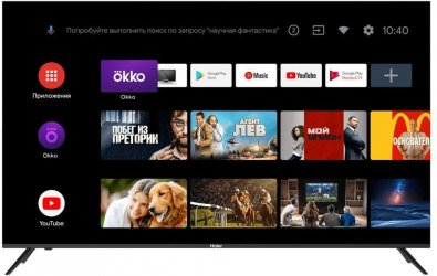 Телевізор DLED Haier DH1VL9D00RU (Android TV, Wi-Fi, 3840x2160)