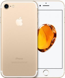Смартфон Apple iPhone 7 32 ГБ золотий