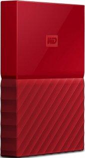 Зовнішній жорсткий диск Western Digital My Passport 1 ТБ червоний