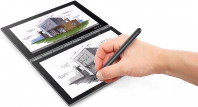 Планшет Lenovo Yoga Book 4 (ZA0W0025UA) сірий