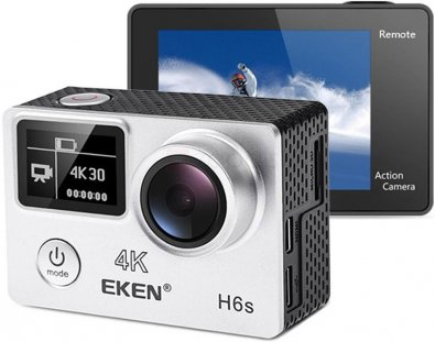 Екшн-камера Eken H6s Grey