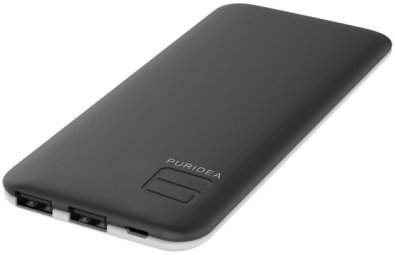 Батарея універсальна Puridea S4 6000mAh Black/White