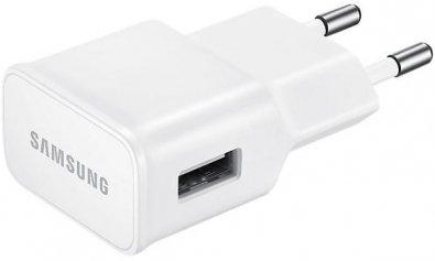 Зарядний пристрій Samsung 5V 2A White (EP-TA20EWEUGRU)