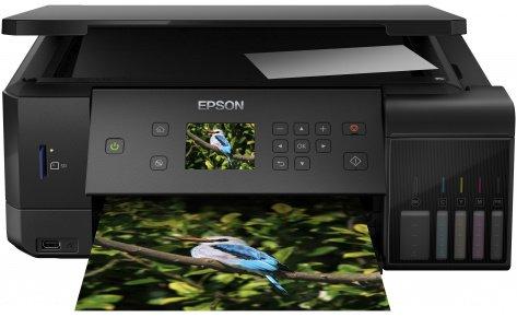 Багатофункціональний пристрій Epson L7160 with Wi-Fi (C11CG15404)