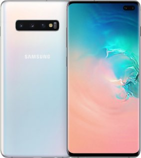 Смартфон Samsung Galaxy S10 Plus 8/128GB SM-G975FZWDSEK Prism White