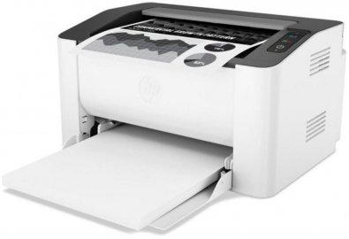Лазерний чорно-білий принтер HP LaserJet M107w A4 with Wi-Fi