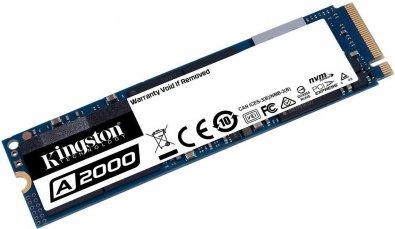 Твердотільний накопичувач Kingston A2000 2280 PCIe 3.0 x4 NVMe 500GB SA2000M8/500G