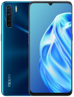 Смартфон OPPO A91 8/128GB Blazing Blue (CPH2001 Blazing Blue)