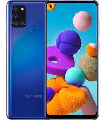 Смартфон Samsung Galaxy A21s A217 3/32GB SM-A217FZBNSEK Blue