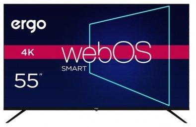 Телевізор LED Ergo 55WUS9000 (Smart TV, Wi-Fi, 3840x2160)