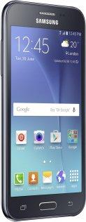 Смартфон Samsung Galaxy J2 J200H чорний екран збоку