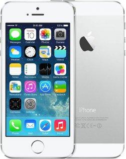 Смартфон Apple iPhone 5s 16 ГБ сріблястий