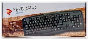 Клавіатура 2Е KS 103 чорна