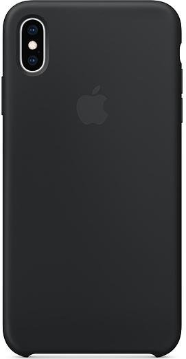 Чохол HCopy for iPhone Xs Max - Silicone Case Black (ASCXSMBK)