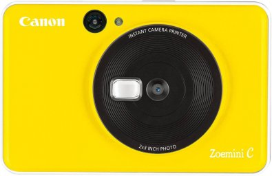 Портативна камера-принтер Canon ZOEMINI C CV123 Bumble Bee Yellow