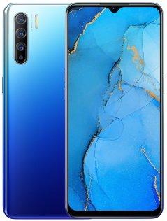 Смартфон OPPO Reno3 8/128GB Auroral Blue (CPH2043 BLUE)